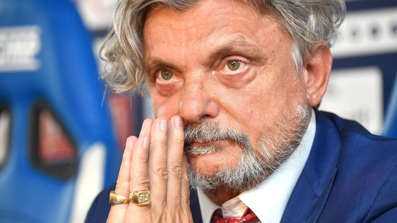 Sampdoria, tifosi sotto casa dell'ex presidente Garrone: