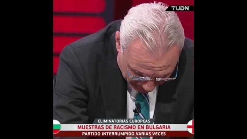 Stoichkov in lacrime in tv per il caso razzismo di Bulgaria-Inghilterra