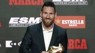 """Messi, sesta Scarpa d'Oro: """"Senza il Barcellona non avrei vinto"""""""