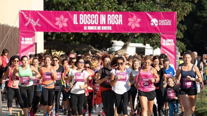 Bosco in Rosa - Corri tra i capolavori. Napoli running vi aspetta sabato per colorare il bosco
