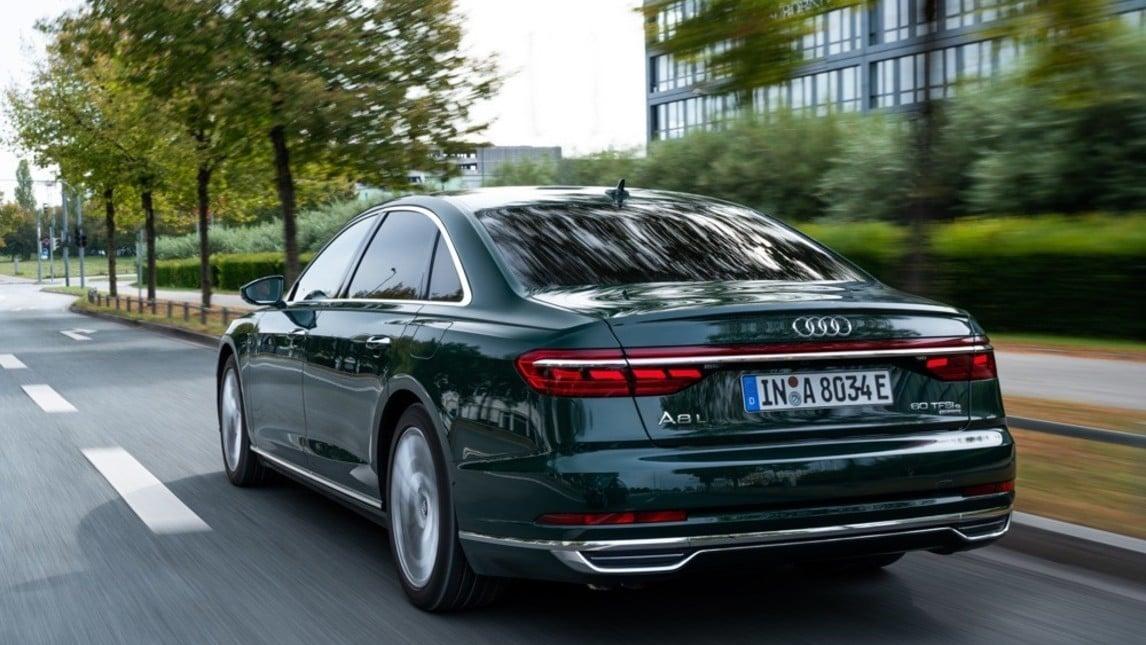 Audi A8 e quattro, le immagini