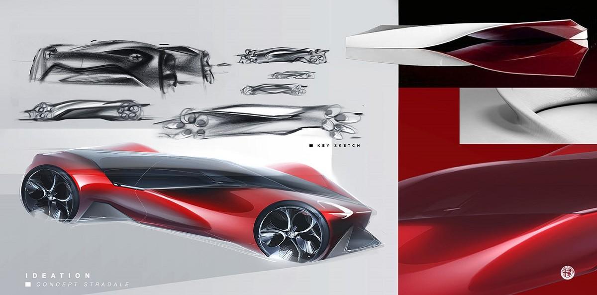 Hypercar Alfa Romeo, ecco come l'hanno immaginata: le immagini