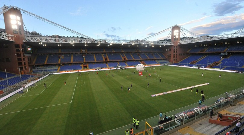 Sampdoria-Roma a rischio maltempo: sabato la decisione
