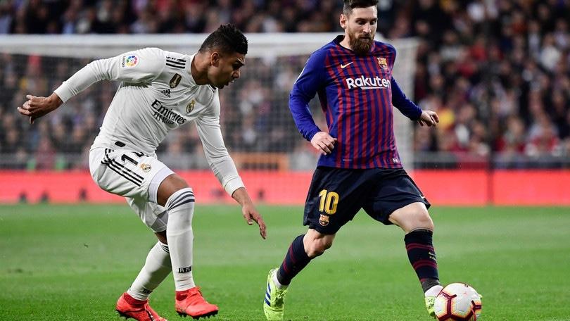 Ufficiale: rinviata Barcellona-Real Madrid del 26 ottobre. Nuova data entro lunedì