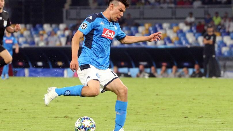Napoli, Lozano non convocato per il Verona