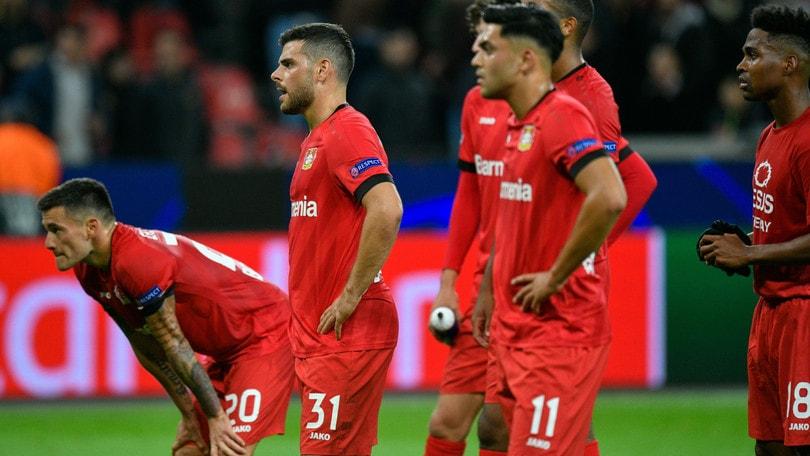 Bundesliga, il Bayer Leverkusen crolla con l'Eintracht Francoforte