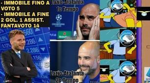 Lazio-Atalanta, 3-3 incredibile: l'ironia impazza sui social