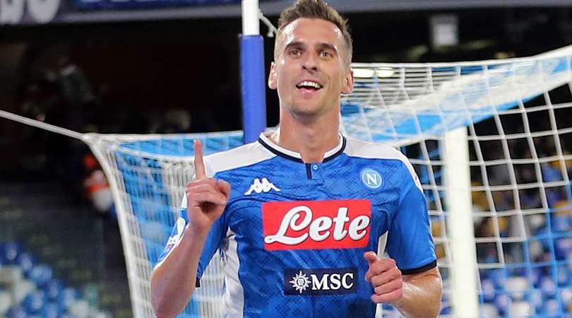 Napoli-Verona 2-0: Milik rilancia Ancelotti