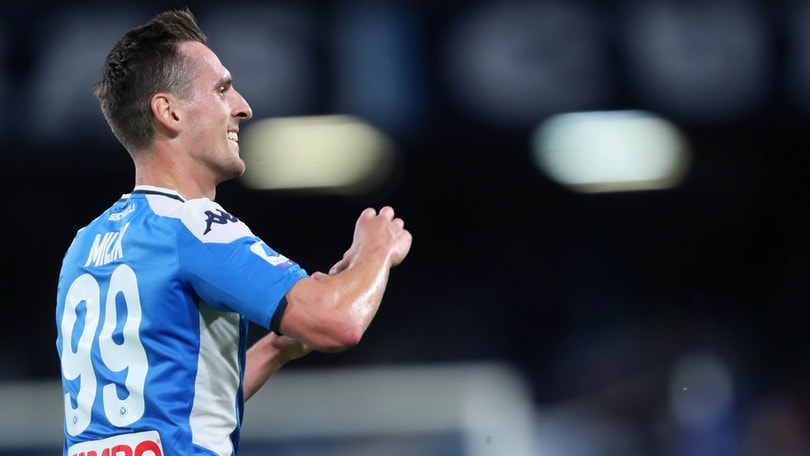 """Milik: """"Rinnovo? Al Napoli sono felice, spero di giocare di più"""""""