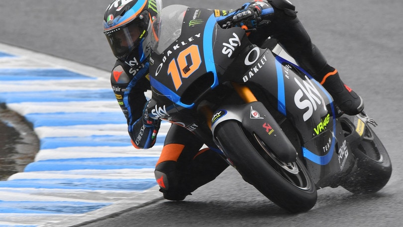 Moto2: Marini vince anche in Giappone, Luthi secondo