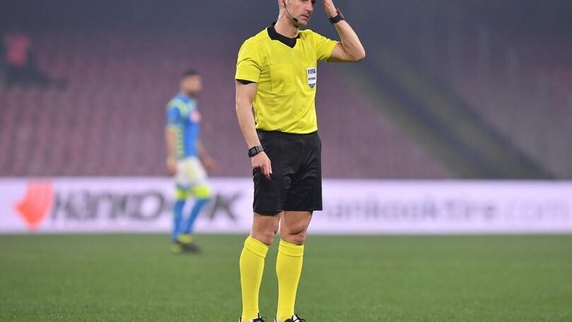 Champions, Sidiropoulos arbitrerà Juve-Lokomotiv. Grinfeld per l'Atalanta