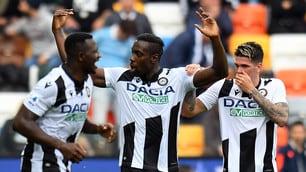 Udinese, Okaka stende il Torino