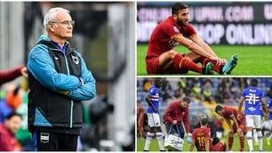 Ranieri frena la Roma. Kalinic e Cristante ko
