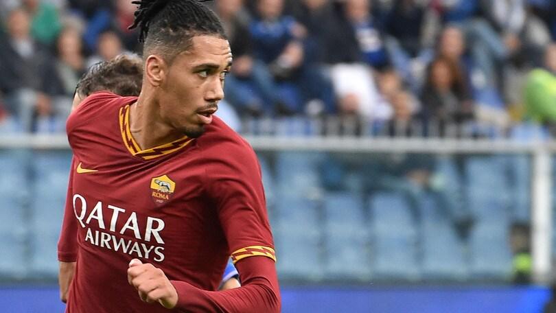 Roma, caos Smalling: il Manchester non dà l'ok per l'Europa League
