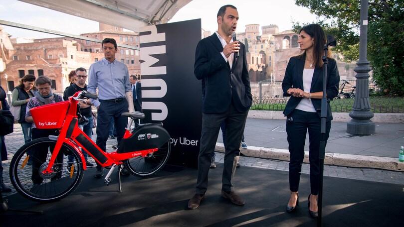 Jump by Uber, nuovo servizio di bike sharing a Roma