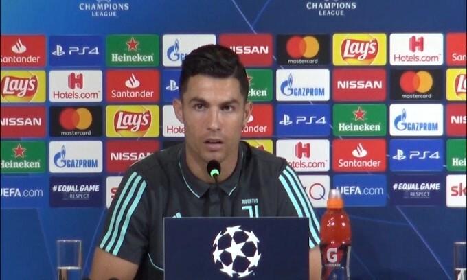 """Cristiano Ronaldo: """"Con Sarri siamo più offensivi"""""""