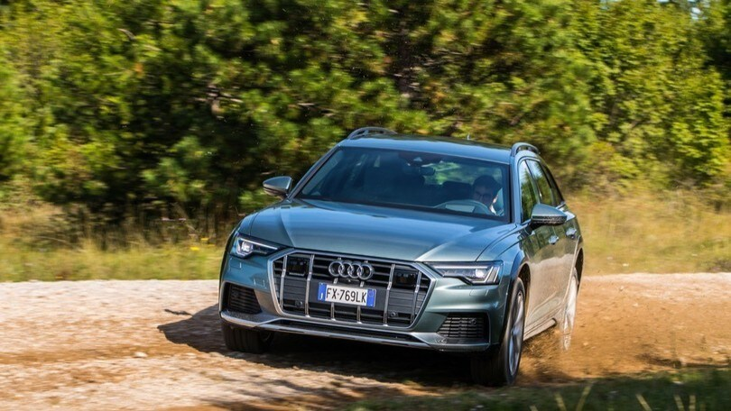 Audi A6 Allroad Quattro, il test