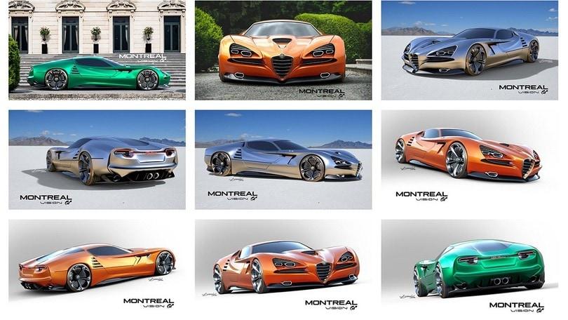 Alfa Romeo, la Montreal di oggi è Vision GT