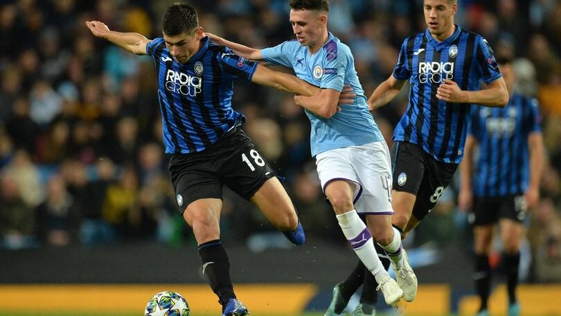 Manchester City-Atalanta 5-1, il tabellino
