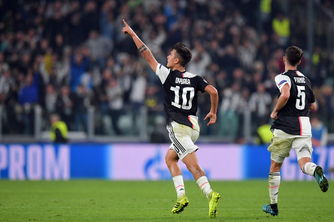 Dybala, che doppietta! La Juve rimonta la Lokomotiv