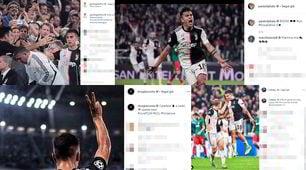 """Festa Juve sui social: """"Bel lavoro Paulo"""", tutti con Dybala  FOTO"""