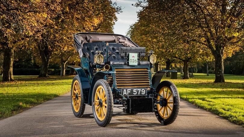 Fiat 3½ HP pronta a sfilare per Londra