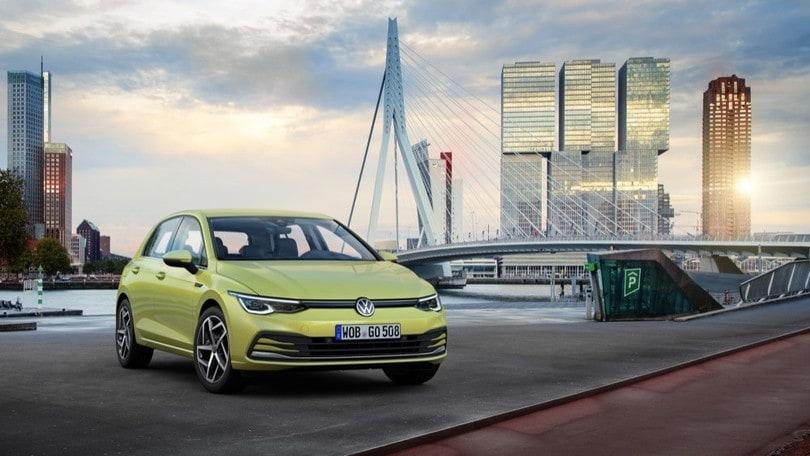 Nuova Volkswagen Golf, ecco l'ottava generazione