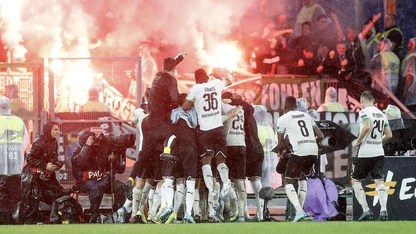 Roma, arrestati tre tifosi del Moenchengladbach