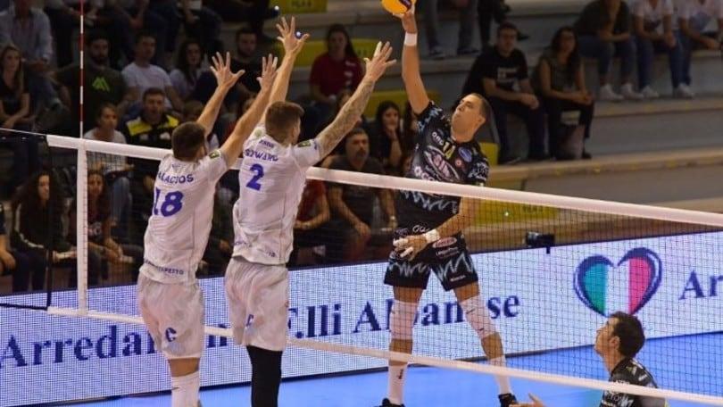 Superlega, la 2a giornata parte sabato con Piacenza-Modena