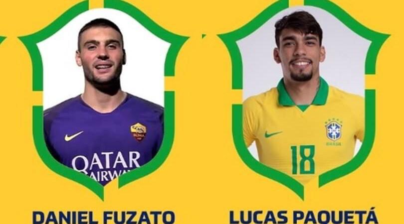"""Convocati Brasile: ci sono quattro """"italiani"""""""