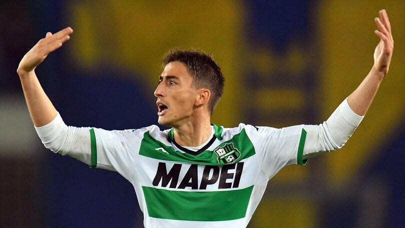 Verona-Sassuolo 0-1, decide un missile di Djuricic