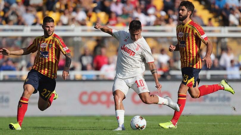 Lecce-Juventus 1-1, il tabellino