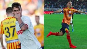 Dybala sblocca, Mancosu pareggia: la Juve si ferma a Lecce