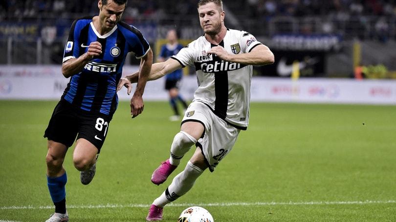 Inter-Parma 2-2, il tabellino