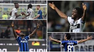 Candreva e Lukaku non bastano all'Inter. Karamoh-Gervinho illudono il Parma