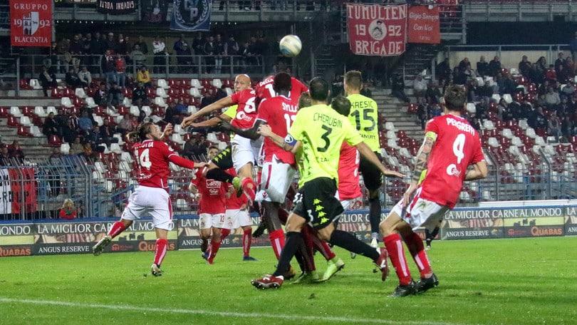 Serie C Piacenza-Padova 1-1. Pesenti replica a Imperiale