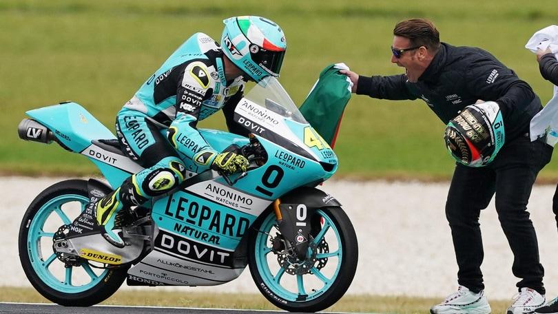 Moto3: Dalla Porta trionfa in Australia ed è campione del mondo