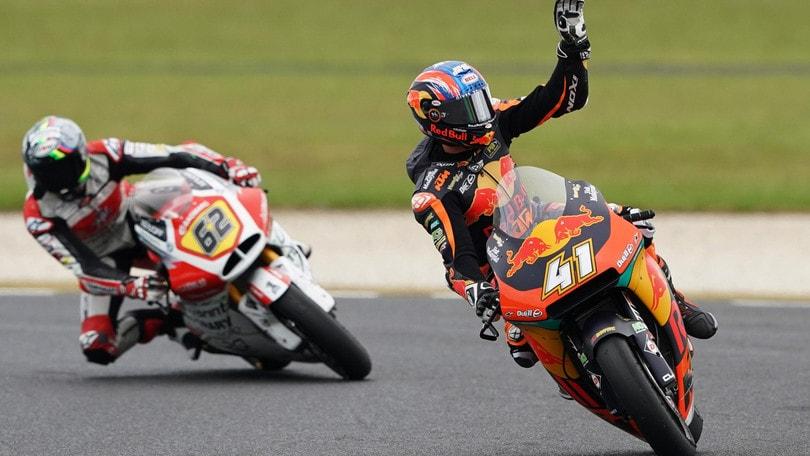 Moto2: Binder trionfa in Australia, Marquez solo ottavo