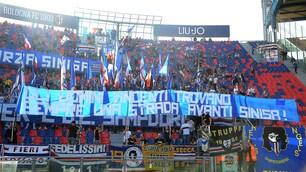 """L'incoraggiamento dei tifosi della Sampdoria a Mihajlovic: """"Avanti Sinisa"""""""