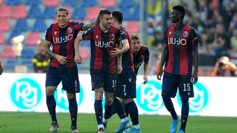 Il Bologna supera 2-1 la Sampdoria, sempre più ultima in classifca
