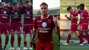 Denis protagonista in Serie C, altra doppietta con la Reggina