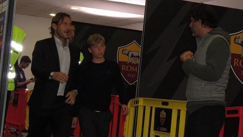 """Roma, Totti di nuovo all'Olimpico: """"Un ritorno emozionante"""""""