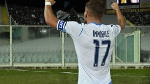 Urlo Immobile, colpo Lazio! Fiorentina ko 2-1