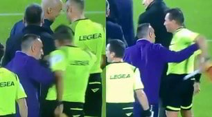 Ribery fuori controllo spinge l'assistente Passeri: rischia un lungo stop