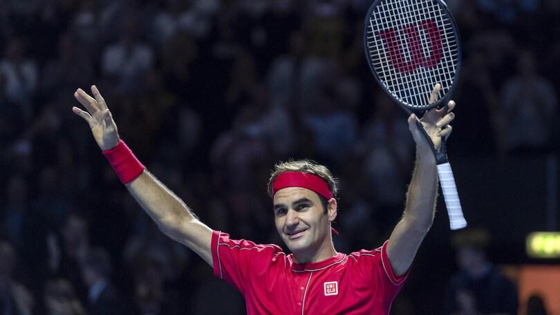 Federer rinuncia al torneo di Parigi-Bercy