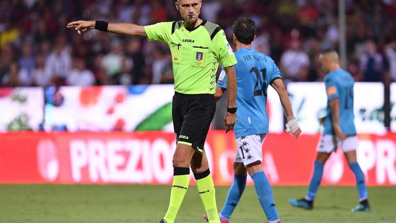 Serie B, Benevento-Crotone a Fourneau. Spezia-Frosinone, arbitra Rapuano