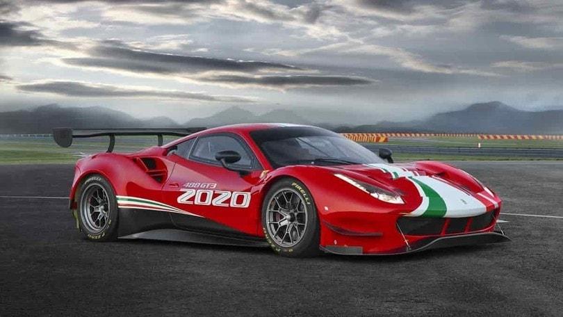 Ferrari 488 GT3 EVO 2020, la nuova supercar per i campionati GT