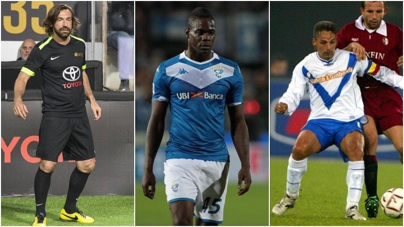 Brescia-Inter, da Pirlo a Roberto Baggio: ecco i doppi ex della sfida