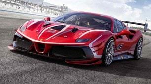 Ferrari 488 Challenge Evo, le immagini