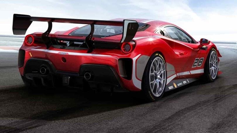 Ferrari 488 Challenge Evo, il nuovo bolide da corsa della Rossa